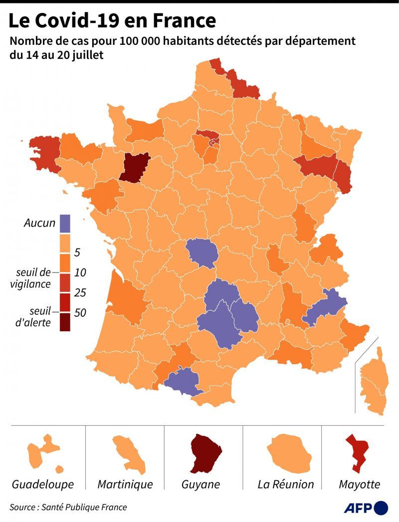 Coronavirus Le Nombre De Cas Detectes Reste Stable En Picardie