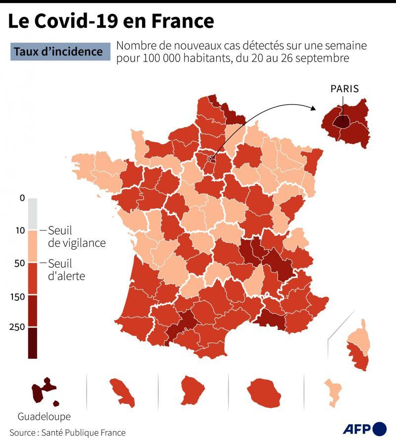 Covid 19 La Situation Des Hauts De France Inquiete Lille Et Paris En Zone Ecarlate La Semaine Prochaine