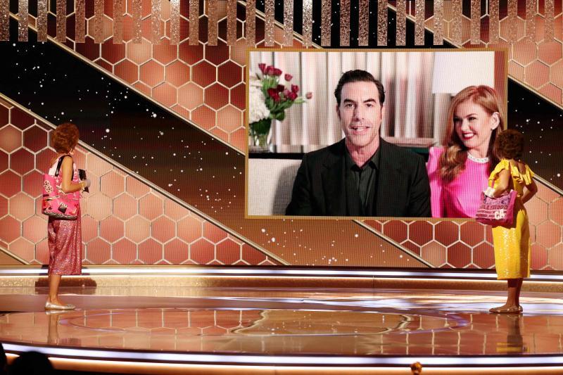 Sacha Baron Cohen a raflé la mise avec « Borat 2 », sacré meilleure comédie.