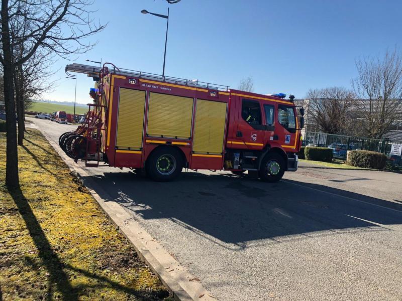 Les pompiers ont été mobilisée pour sécuriser les lieux.
