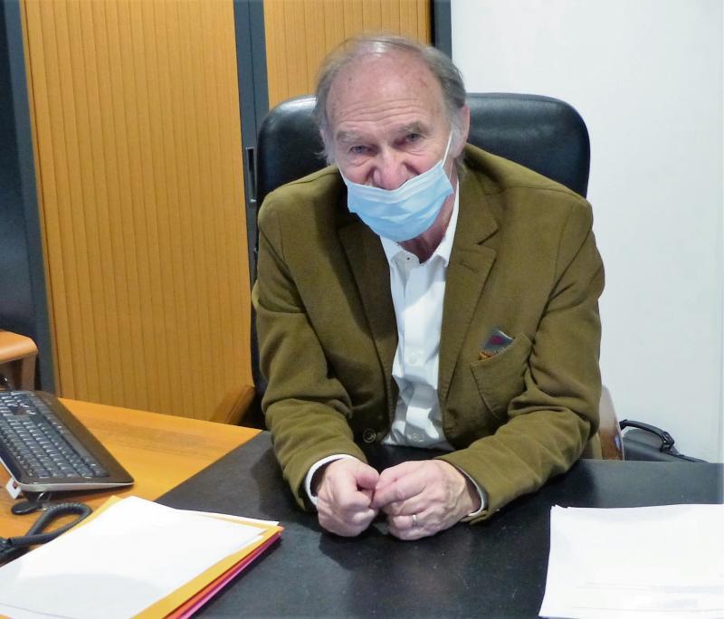 Patrice Philippe, maire de Petit-Caux. (Photo d'archive PN)