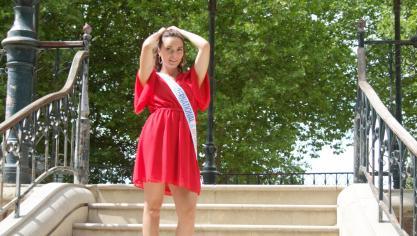 Une Miss international Hauts-de-France proche de ses racines pose à Saint-Quentin