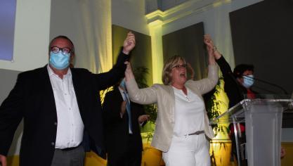 Le 28 juin, Marie-Agnès Poussier-Winsback remporte le duel face à Patrick Jeanne. La maire divers droite de Fécamp est réélue avec 51,5 % des suffrages, devançant de 171 voix son rival socialiste. Mais seulement 42 % des Fécampois se sont rendus aux urnes.