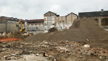 La déconstruction s'achèvera en février. (Photo MB/PN)