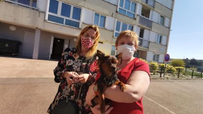 L'enquêtrice Sandrine Lefevre était avec Valérie Moalic, devant l'immeuble Zeebrugge