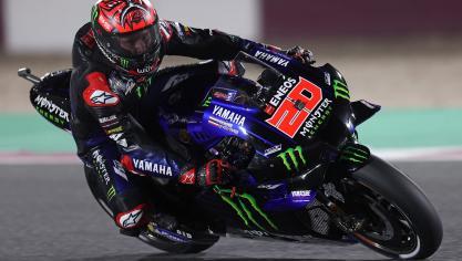 Historique doublé français à Doha, en MotoGP (VIDEO)