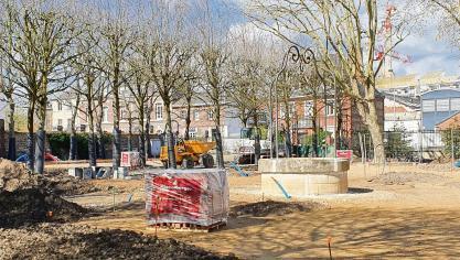 La nature se réinstalle au jardin Saint-Sever de Rouen