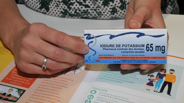 La distribution de comprimés d'iode, à aller chercher en pharmacie, a commencé le 18 septembre.