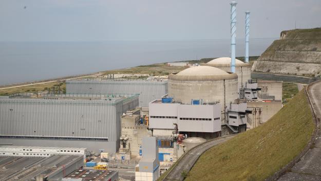 La centrale de Penly, une des trois à avoir déclaré un incident de niveau 2 en 2019.