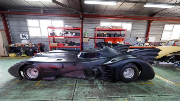 La Batmobile est le véhicule du super-héros Batman.