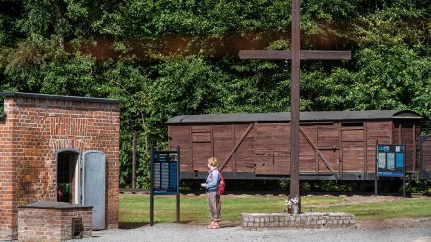 Camp de concentration de Stutthof, juillet 2020.