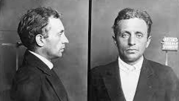 Raoul Villain, entré tristement dans l'Histoire pour avoi assassiné Jean Jaurès en 1914