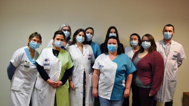 L'équipe soulage les patients en fin de vie. (Photo CHIELVR)