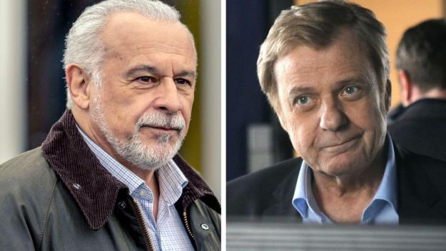 Francis Perrin et Jacques Spiesser, les protagonistes de ces deux séries