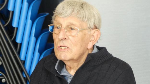 Jean Leclercq a assisté à la dernière réunion des Picardisants du Ponthieu et du Vimeu, à Abbeville, le 9 septembre.