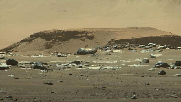 La Nasa a dévoilé vendredi de nouvelles images de Mars.