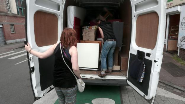 Les cambrioleurs ont forcé la porte d'une maison vide... suite à un déménagement.
