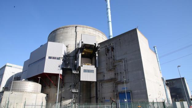 La centrale nucléaire de Penly est situé à une vingtaine de kilomètres d'Eu, Le Tréport et Mers-les-Bains. (Photo archives FRED DOUCHET)