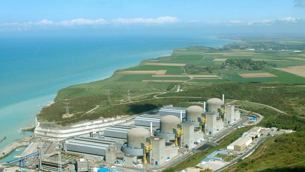 La centrale de Paluel dispose de quatre réacteurs nucléaires en activité. (Photo d'archives PN)