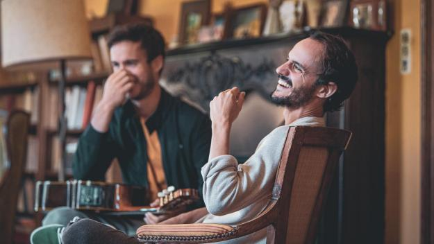 Sylvain Duthu et Florent Dasque revendiquent un album hybride et inclassable, qui n'aurait pas existé sans ce contexte particulier.