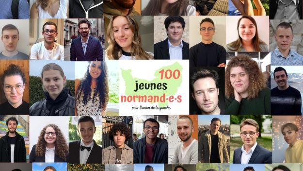 Cent jeunes Normands rassemblés pour bâtir l'union à gauche.