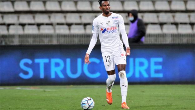 Emmanuel Lomotey devrait être du déplacement à Beauvais, samedi, pour le match Chambly - Amiens SC.