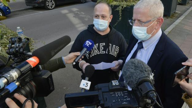 L'oncle d'Elisa Pilarski, Vincent Labastarde et son avocat s'expriment à l'issue de la confrontation avec Christophe Ellul.