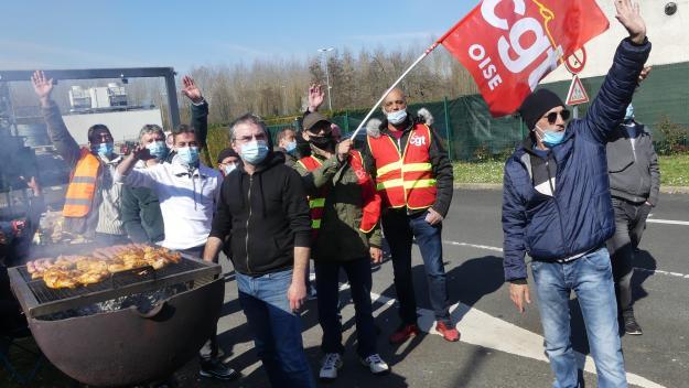 La grève a commencé lundi 22 mars.