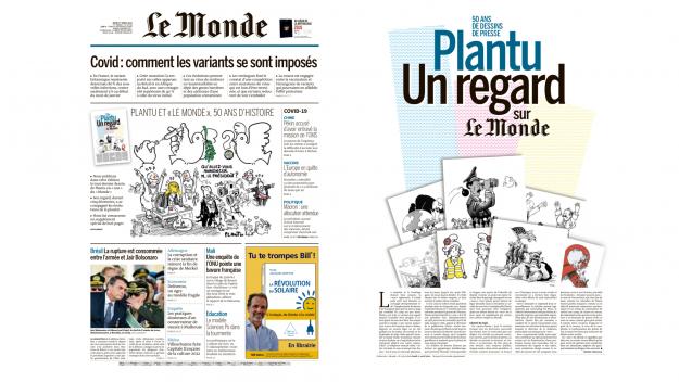 Le Monde_départ Plantu