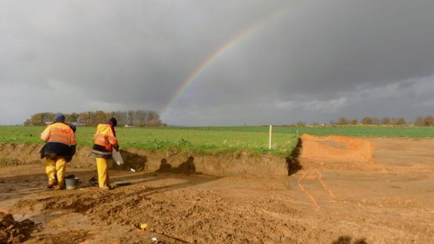 Le chantier de fouilles s'est déroulé de septembre à décembre 2020. (Photo Inrap)