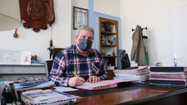 Éric Picard a entamé son deuxième mandat de maire en pleine crise. (Photo PN)