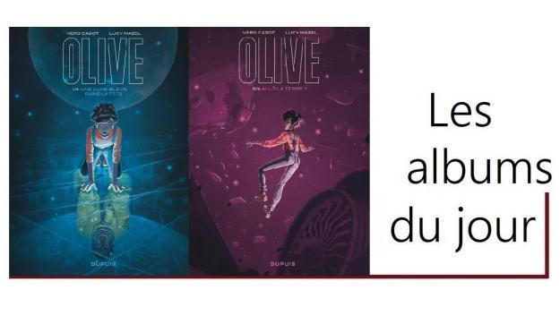 BD_les albums du jour_Olive