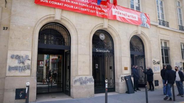 Des tags antisémites ont été inscrits sur le fronton de Science po Paris