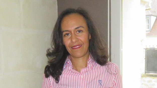 Myriam Lamzoudi est actuellement conseillère municipale dans l'opposition à Béthisy-Saint-Martin.