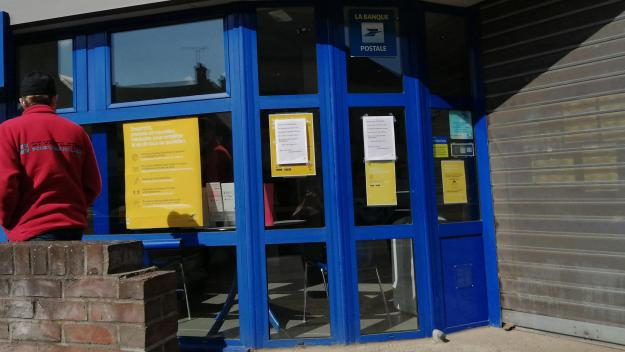 A Chaulnes, la Poste était fermée mardi 13 avril.