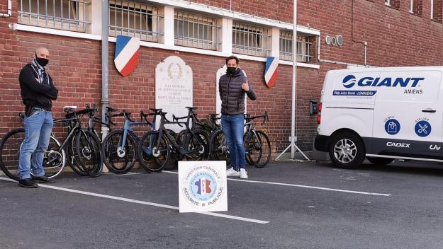 Les vélos volés dans un magasin de Boves ont été retrouvés par la BAC.