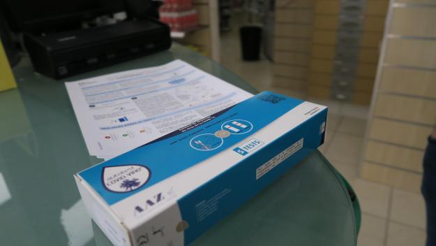 Le prix de la boîte de cinq tests ne doit pas dépasser les 30 euros.
