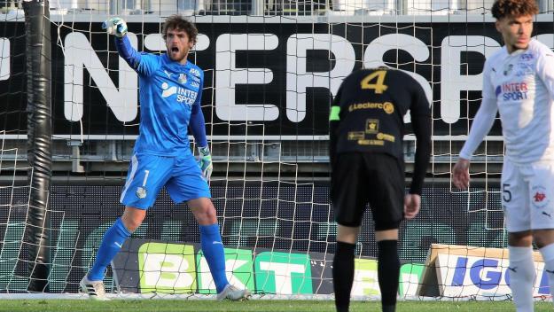 Le gardien de but amiénois n'a pas caché son envie de goûter de nouveau à la Ligue1.
