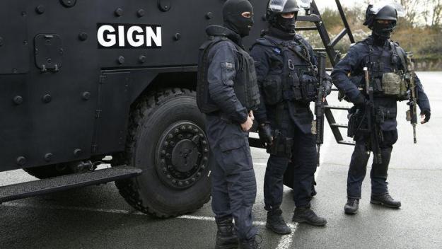 Le GIGN est intervenu vendredi dans un camp de gens du voyages à Frouard, près de Nancy (Meurthe-et-Moselle)