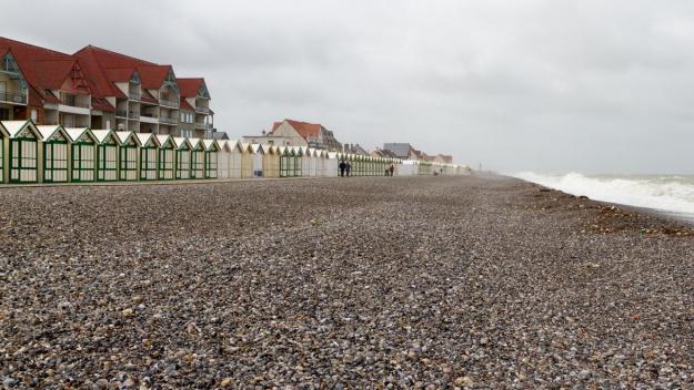 la plage de Cayeux-sur-Mer, au nom tout à fait adapté.