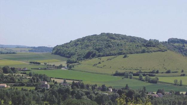 La colline Sainte-Hélène, en pays de Bray (dans l'Oise)