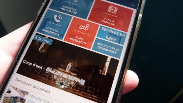 Dotée d'un système d'alertes et de ponts avec l'application de la communauté de communes, l'application mobile de la Ville de Roye est intuitive.