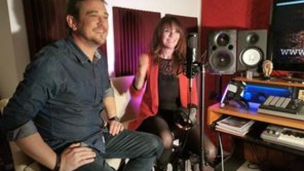 Irho et Stéphanie Rodrigues ont profité du confinement pour écrire et composer (photo DR)