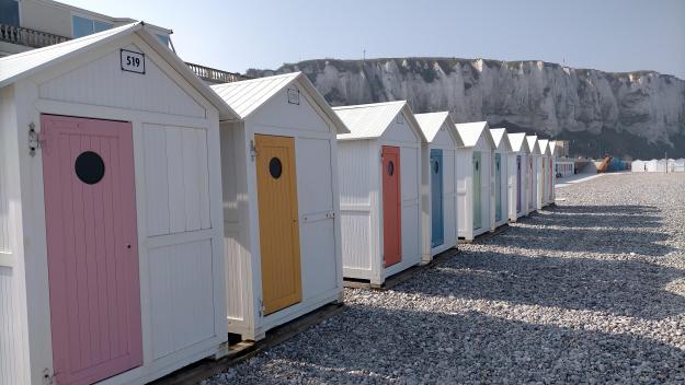 Au Tréport, la commune possède 36 cabines qu'elle loue à des particuliers.