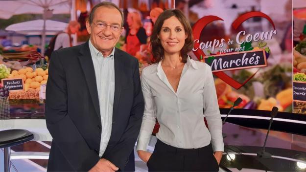 Jean-Pierre Pernaut et Dominique Lagrou-Sempere. (Photo DR)