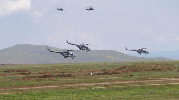 L'armée russe avait multiplié les exercices  ces derniers jours. (Photo AFP)